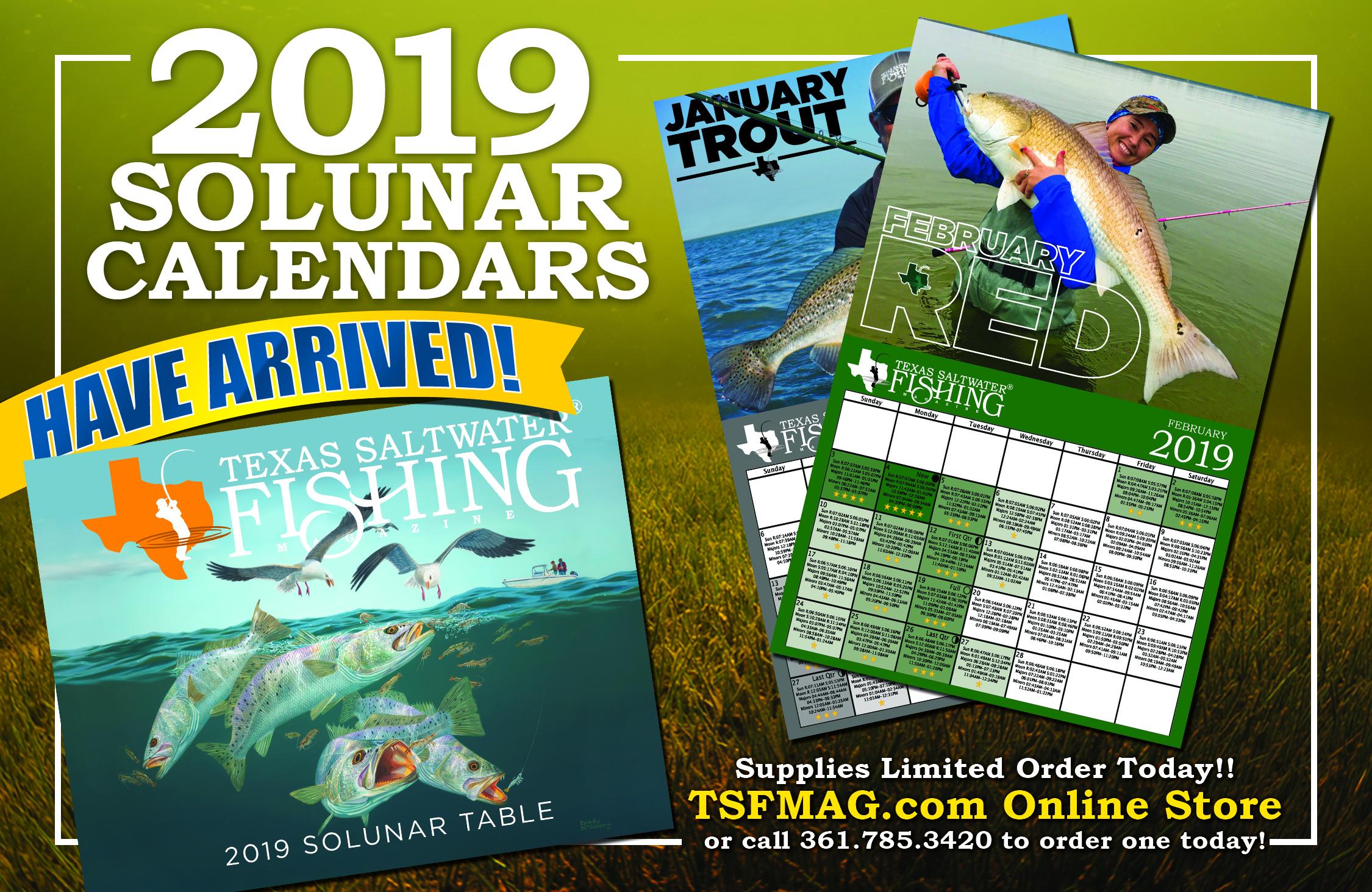 Calendars & Fishing Books