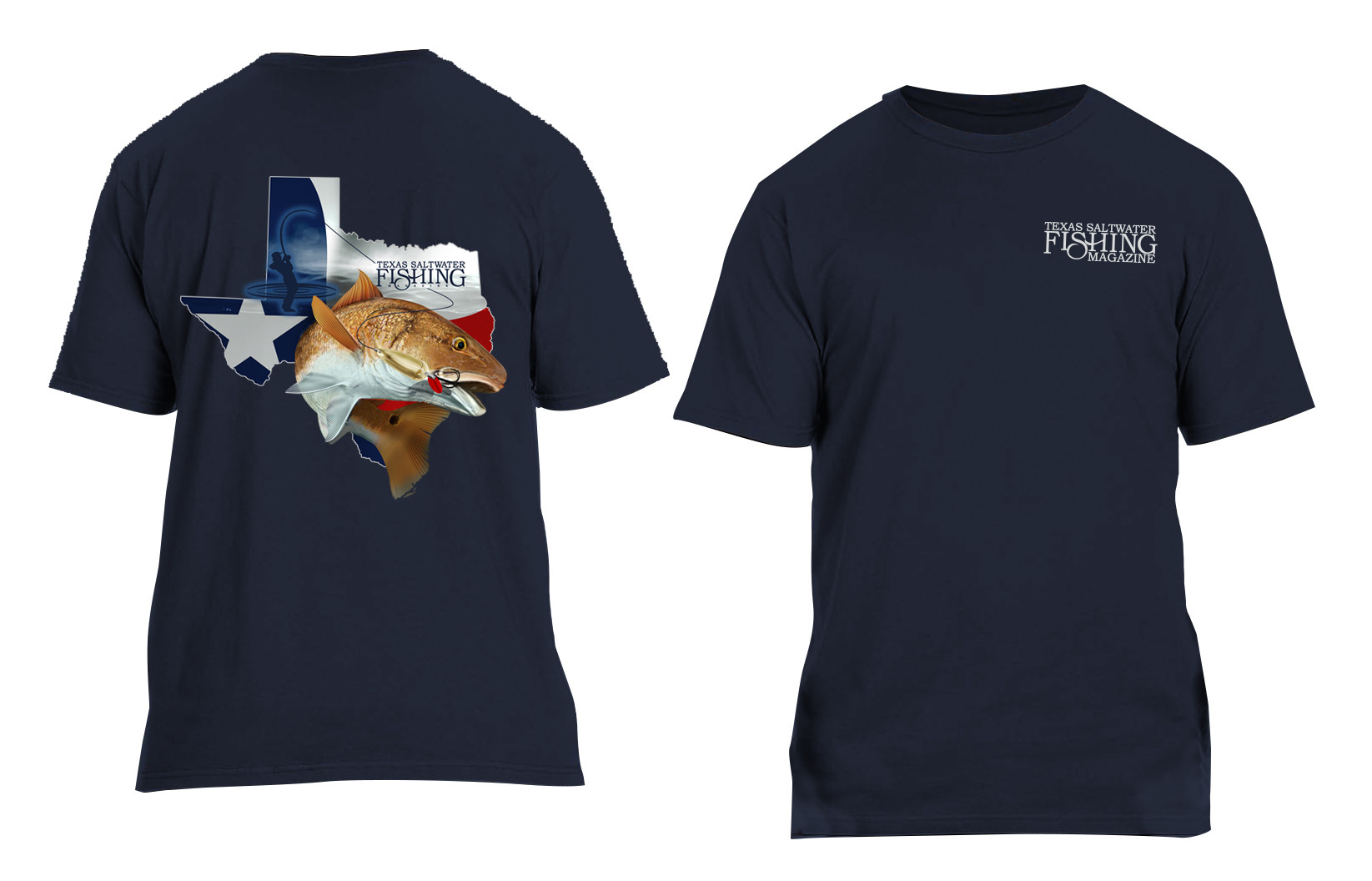 Navy Redfish T-shirt