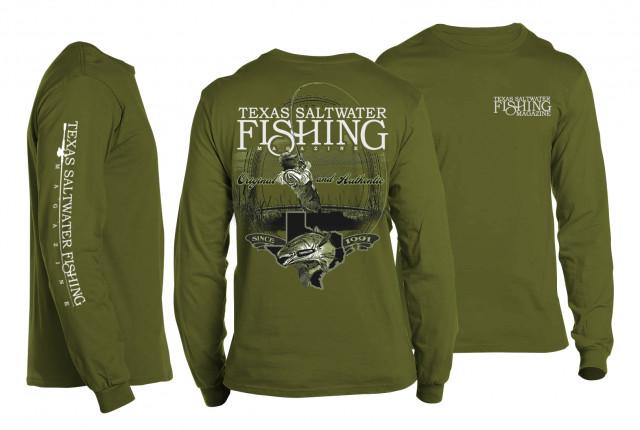 Original & Authentic Redfish Long Sleeve T-shirt