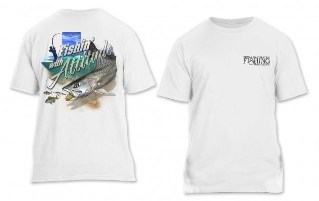 Fishin' with Attitude T-shirt