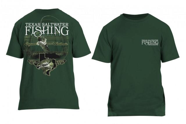 Original & Authentic Redfish T-shirt