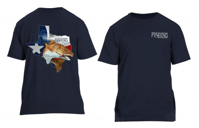 Navy Redfish T-shirt