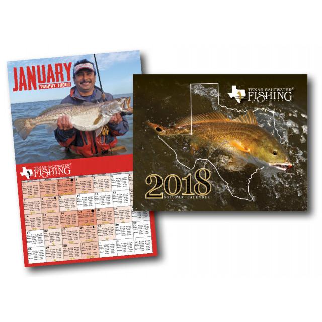 2018 Solunar Calendar