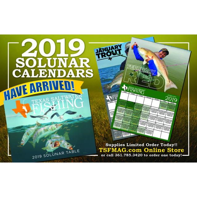 2019 Solunar Calendar
