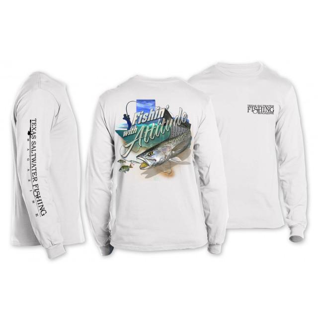 Fishin' with Attitude Long Sleeve T-shirt