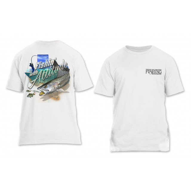 Fishin' with Attitude T-shirt