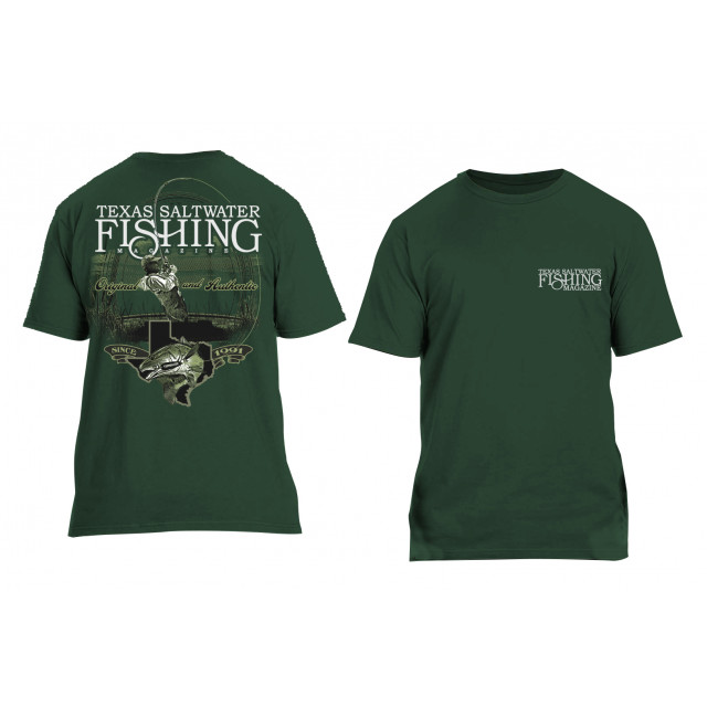 Original & Authentic Redfish T-shirt